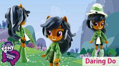 My Little Pony Daring Do Dazzle Equestria Girls Mini Custom Doll | Evies...