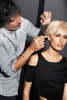 *Infiniment Blonds* Watch the images of the shooting on our Youtube channel: the Beauty Hair TV! #collection #infinimentblonds #hair #trends #cut #blond #franckprovost