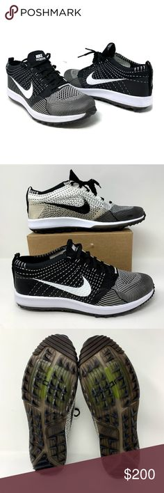 45069ce94089f Nike Air Zoom Flyknit Racer G Men s Golf Shoes NIKE Nike Air Zoom Flyknit  Racer G