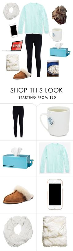 """""""Sick Day🤒"""" by lily264 ❤ liked on Polyvore featuring NIKE, Vineyard Vines, UGG, Moschino, 3.1 Phillip Lim and H&M"""