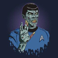 Zombie #Spock