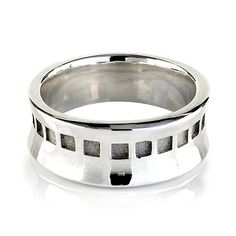BIRKS IMPRESSIONS™ Collection Wide Ring in Sterling Silver