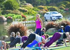 #tbs Thank you @lpga_tour and @gracedbygrit for giving me a morning straight out of my dreams last Saturday. Teach yoga on a golf course ✔️ #sandiego #sandiegoconnection #sdlocals #encinitaslocals - posted by Blair Atkins https://www.instagram.com/beachgrown. See more post on Encinitas at http://encinitaslocals.com