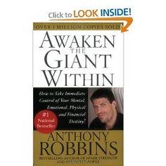 Tony Robbins! Awaken the Giant Within!