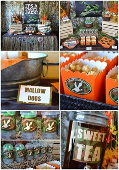 Duck Dynasty Party - Party planning tips & inspiration from Printable Parties To Go #PartyPlanning