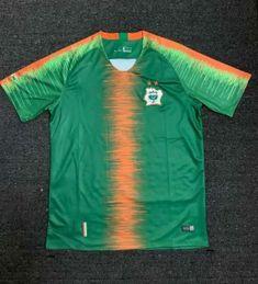 2018-19 Cheap Jersey Ivory Coast Green Training Replica Soccer Shirt   DFC299  c74d8c732e86b