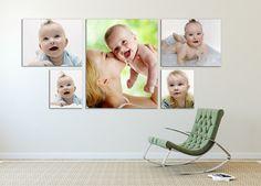 Large Canvas Cluster Canvas Art Home Decor  Photo by ArtTecPrints