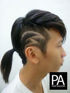 Fabulous Hair Tattoo Designs By Erike Ferrato Hair Design Pinterest Short Hairstyles Gunalazisus