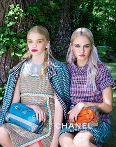 Charlotte Free, Kitty Hayes and Stella Lucia by Karl Lagerfeld for Chanel Cruise 2016