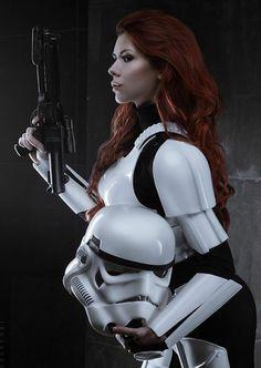 Female trooper