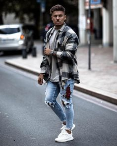 Style by @artur__fit  Via @gentwithstreetstyle  Yes or no?  Follow @mensfashion_guide for dope fashion posts!  #mensguides #mensfashion_guide