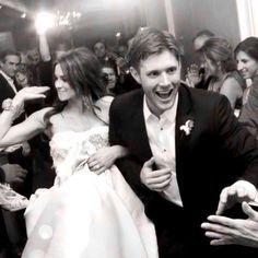 Superwholock Fandoms Jensen Ackles Wedding Wife Daneel Hey