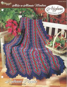 Radiant Ripples Afghan Collector's Series by KnitKnacksCreations