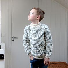 Camisola de menino em tricot