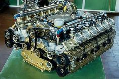 Flat 12 Subaru engine. Failed F1 attempt bet it sounds gorgeous too bad they didn't have enough money to get the rest of the car done