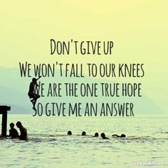 We are the one true hope. We Came as Romans - Hope