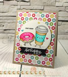 SSS Funny Food | New Beginnings Blog Hop | Clean Color Real Brush Markers!
