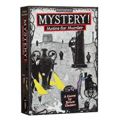 MysteryTM Motive for Murder! Mayfair Games