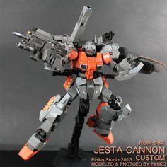 RGM-96X Jesta Cannon Custom [ジェスタ・キャノン]