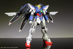 MG 1/100 Wing Gundam Proto Zero - Customized Build Modeled by minsu0079