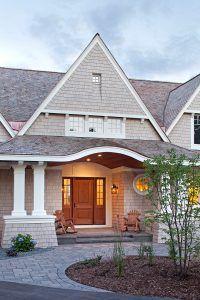 The Exterior Paint Color Is Custom Shingle Cedar Shake Home Exterior