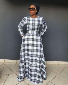 Winter Maxi Dresses @nedim_designs  +27829652653 Winter Dress Outfits, Casual Dress Outfits, Casual Summer Dresses, Trendy Dresses, Modest Dresses, African Maxi Dresses, African Attire, Winter Maxi, Dress Winter