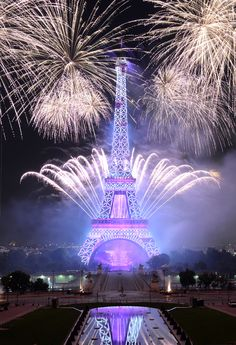 fireworks for bastille day paris