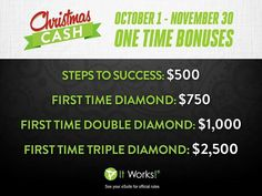 Do you want an extra $1000 this Christmas? Let me personally show you how! Rock your Christmas with Cash!