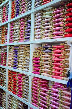 sewing threads by luca.gargano, via Flickr