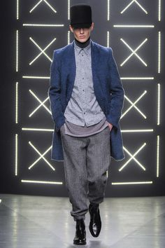 Robert Geller | Fall 2014 Menswear Collection | Style.com