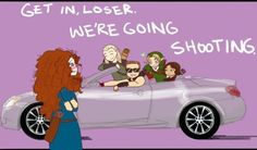 funny, archery movies, Merida from Brave, Hawkeye from The Avengers, Link from the Legend of Zelda, Katniss from the Hunger Games, and Legolas from LOTR/Hobbit.