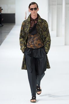 Dries Van Noten Spring 2013 Menswear Collection on Style.com: Complete Collection