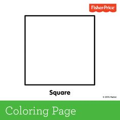 squares coloring pages for preschool - photo#18