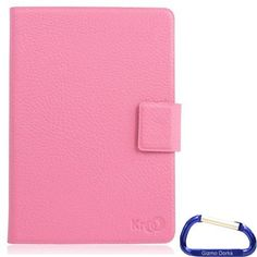 Gizmo Dorks Folding Frameless Leather Case Cover (Pink) for Amazon Kindle Touch / Paperwhite by Gizmo Dorks. $11.99. The self-adhesive system secures the device in place and allows to the thinnest profile possible. The hard cover provides protection while also maintaining the thin profile.