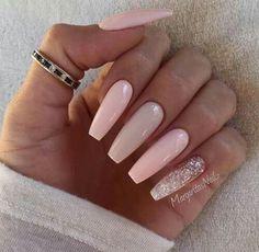 Pretty pink nails!!