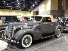 1938 Buick Special Convertible Coupe with Rumble Seat