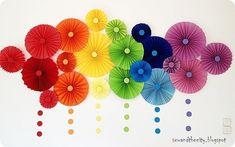Rainbow Party Decorations | Community Post: 28 Unicorn-Approved Rainbow DIYs