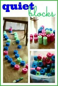 Great idea for toddlers after nap time