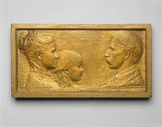 Augustus Saint-Gaudens   Richard Watson Gilder, Helena de Kay Gilder, and Rodman de Kay Gilder   The Met (05.27.2012)