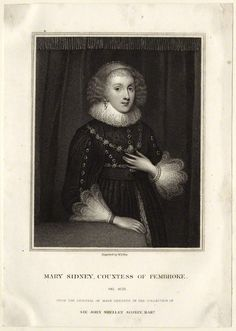 Following the death of her youngest sister, Ambrosia Sidney, in 1575, The Countess of Pembroke was summoned to London to attend Queen Elizabeth I. In 1577, her mother's brother, Robert Dudley, helped Sir Henry Sidney to arrange her marriage to their close ally, Henry Herbert, 2nd Earl of Pembroke, then in his mid-forties.