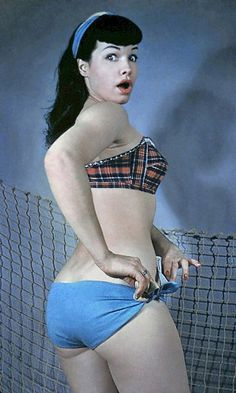 Bettie Page... what's not to love?