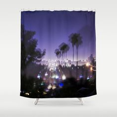 BLACK FRIYAY EXTENDED! Chasing Light in Los Angeles Shower Curtain by Amy J Smith Photography - $68.00