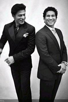 #Sachin, #Srk magazine shoot