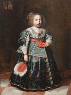 Wybrand de Geest, portrait of Suzanna van Burmania, 1634 - private collection