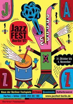 Jazz07 – Plakat – Wagenbreth