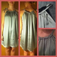 Mønster på simpel sommertop. | Sygal Next Fashion, Future Fashion, Fashion Network, Couture, Diy Dress, Sewing Patterns Free, Sewing Clothes, Gingham, Womens Fashion