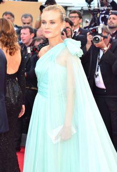 Draping Ruching A-line Chiffon Celebrity Dress