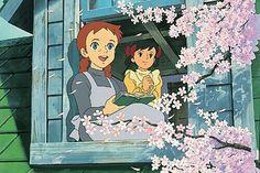 Anne of Green Gables Anne Green, Old Cartoons, Animated Cartoons, Old Anime, Anime Manga, Hayao Miyazaki, Grafiti, Anne Shirley, Cute Cartoon Wallpapers