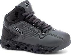 Fila Unisex Children's Big Bang 3 Ventilated Basketball Shoe Black/Black/Prince Blue Size 11.5 M
