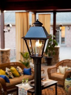 Gassing up our curb appeal with a copper gas lantern old town home american gas lamps photos of our huge selection of american made outdoor gas lamps electric lights aloadofball Choice Image